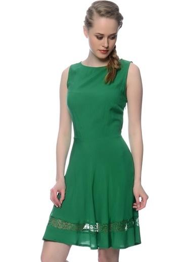 Black Pepper Elbise Yeşil